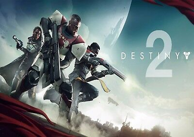 Destiny 2 Game Wall Art Poster (A1 - A5 Sizes Available)