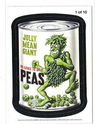 2013 WACKY PACKAGES ANS10 **JOLLY MEAN GIANT** #1  MAGNET