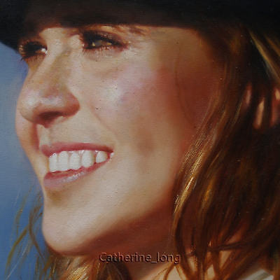 Custom Original Portrait Oil Painting from your Photo,Picture to Oil Painting-AD