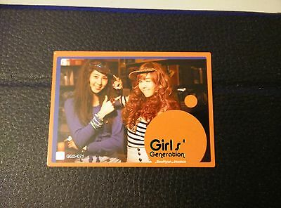 Girls' Generation SNSD Star Card Season 2 Seohyun Jessica OH Foil 071 GG2-071