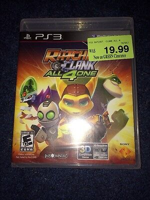 Ratchet and Clank: All 4 One, (PS3) Brand New Unopened