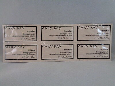 MARY KAY TIMEWISE FIRMING EYE CREAM, 6 FRESH SAMPLES NO TAX  FREE SHIP