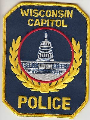 WISCONSIN CAPITOL POLICE PATCH WI