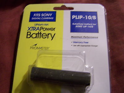 PROMASTER PLIP-10/B FOR SONY LIP-10/B- LITHIUM BATTERY-- NEW