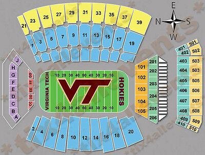 Virginia Tech Ohio State Football -- Labor Day 2 excellent tickets