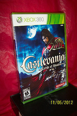 Castlevania: Lords of Shadow  (Xbox 360, 2010) BRAND NEW FACTORY SEALED