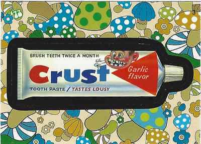 "2008 Wacky Package FLASHBACK-""CRUST"" Fresh Out Of Pack Mint!"
