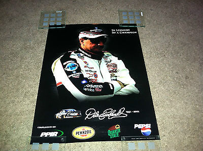 """In Memory of the Champion #3 Dale Earnhardt  Sr Poster  12"""" x 16""""  VF++"""
