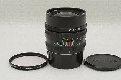 Mamiya G 50mm f/4 L Lens for Mamiya 6 [Excellent] from Japan (88-A50)