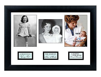 The Grandparent Gift Life Story Frame, Grandma , New, Free Shipping