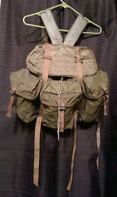VIETNAM 1969 TROPICAL RUCKSACK WITH X FRAME VINTAGE RARE MILITARY
