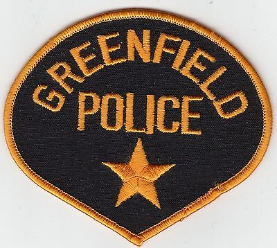 GREENFIELD WISCONSIN WI POLICE SHOULDER PATCH