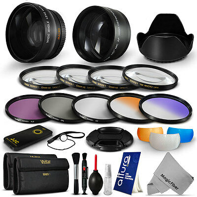 52MM Lens Filter and Accessory Kit for Nikon D7100 D7000 D5300 D3300 D3200