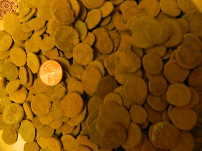 Uncleaned Roman coins *Culls* 20 coins per lot purchased