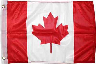 12x18 12''x18'' Canada Canadian Rough Tex Knitted boat Car flag banner