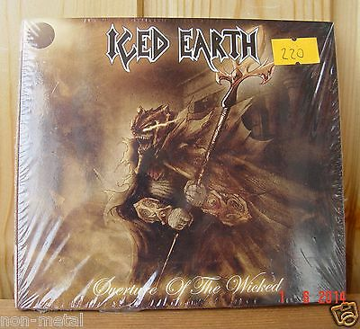 Iced Earth - Overture of the Wicked (Steamhammer / Soyuz`07) Digi Sealed RUS