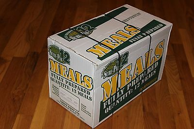 Box of 12 Meals Ready to Eat MREs (Case)