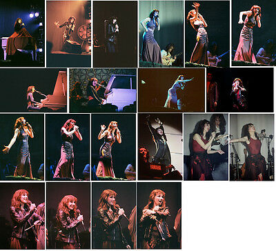 20 Kate Bush colour concert photos - Liverpool 1979