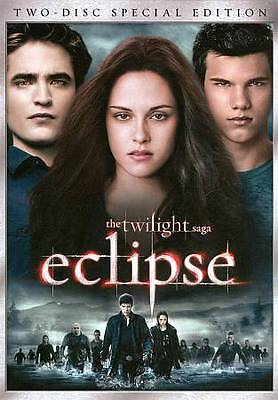 The Twilight Saga: Eclipse (DVD, 2010, Special Edition) SHIPS NEXT DAY! 2 DISC