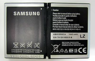 New OEM Samsung AB653850CA Battery Behold II 2 SGH-T939