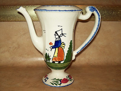 "VINTAGE BLUE RIDGE SOUTHERN POTTERIES ""FRENCH PEASANT"" CHOCOLATE POT (NO LID)"