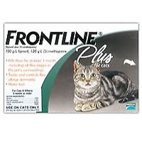Merial Frontline Plus 6 Pack For Cats