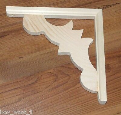 "Victorian Wood Gingerbread ~ Porch Bracket { 10"" x 10""}  #43 by PLD"