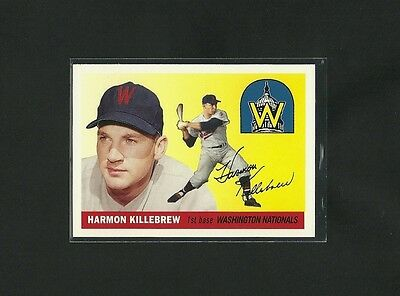 2006 TOPPS ROOKIE OF THE WEEK HARMON KILLEBREW 1955 RP #124