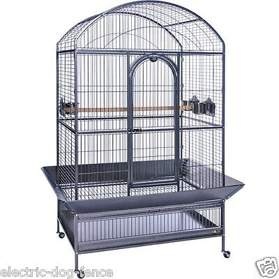 "Large Dometop Parrot Bird Cage 41"" Wide x 28"" Deep x 72"" Tall by Prevue Hendryx"