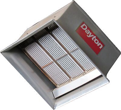 Dayton Model 5Vd65 Infrared Radiant Heater 90,000 Btu/h Used