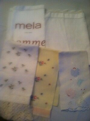 Lot Of 5 Tea Towels Good Condition
