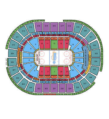 Boston Bruins vs Toronto Maple Leafs Tickets 04/04/15 (BOS) 2 Tix, BAL 304 ROW 2