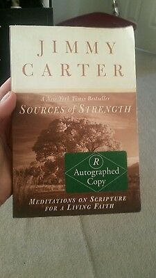 Sources of Strength : Meditations on Scripture for a Living Faith by Jimmy...