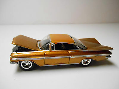 RARE GM MUSCLE BOX SET COPPER 1959 CHEVROLET IMPALA BY JOHNNY LIGHTNING