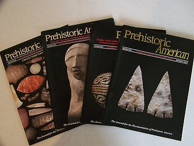 Prehistoric American 2011 Set of (4) Issues