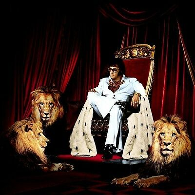 Elvis Presley - Elvis in a Fantasy Photo ( The King )
