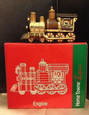 JC Penney Home Towne Express Christmas Village 1998 Edition ENGINE Week 37 MIB