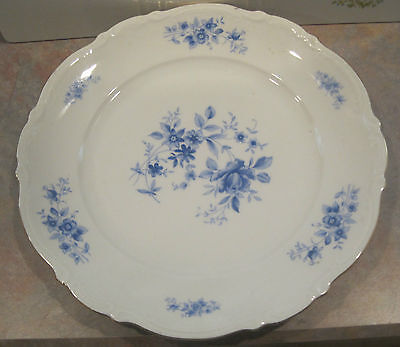 Mitterteich Rhapsody in Blue Dinner Plates