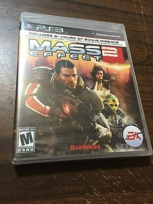 MASS EFFECT 2...PS3...***BLACK LABEL***SEALED**BRAND NEW***!!!!!