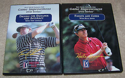 PGA TOUR PARTNERS CLUB FAULTS AND CURES & DRIVING FOR DISTANCE AND ACCURACY DVD
