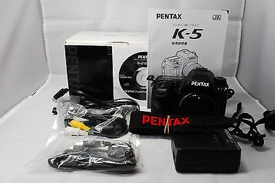 Pentax K Series K-5 16.3 MP Digital SLR Camera SN3858734