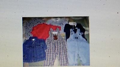 Lot of 27 pieces baby clothes (boy) 6-9 months