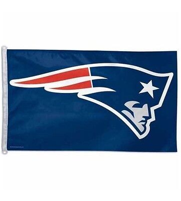 New England Patriots 3X5 Polyester Flag with D-rings, Similar to Wincraft
