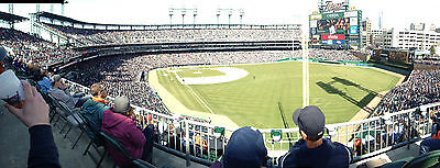Detroit Tigers Opening Day SRO (2) Tickets