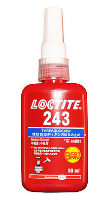 Loctite 243 Medium Strength Threadlock Best Ever Metal Adhesive 50 Ml 10/2019