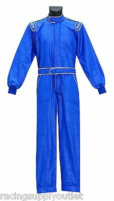 Sparco One FPS Racing Suit Blue Size XX-Large
