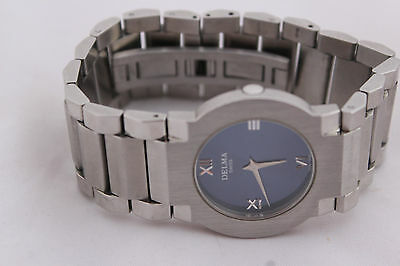 PRE OWNED DELMA SONESTA 467.256 MENS BLUE DIAL WATCH IN PERFECT CONDITION