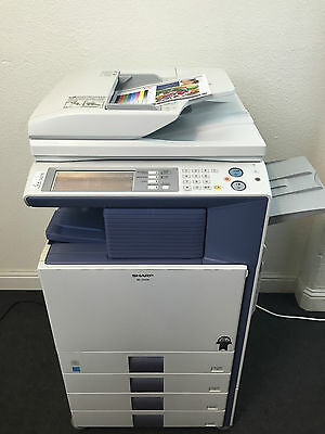 Sharp MX-2300n Color Copier Printer Scanner Fax VERY low use 70k total pages!