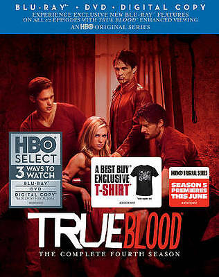 True Blood: The Complete Fourth Season (Blu-ray Disc, 2012