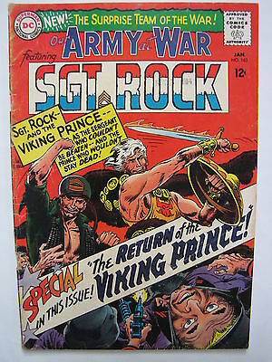 Our Army at War #162 (Jan 1966, DC) [VG/FN 5.0] Return of the Viking Prince